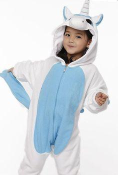 Kids Unicorn Kigurumi Onesie!