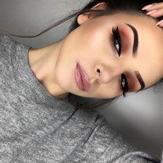 Make-up for brown eyes - MakeUp Inspiration & Brands - . - Pinspace Make-up for brown eyes - MakeUp Inspiration & Brands - # . Glam Makeup, Cute Makeup, Skin Makeup, Makeup Inspo, Eyeshadow Makeup, Makeup Inspiration, Makeup Ideas, Eyeshadows, Drugstore Makeup