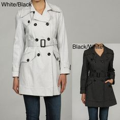 $85, Belted Trench Coat by Tommy Hilfiger. Sold by Overstock. Click for more info: http://lookastic.com/women/shop_items/10917/redirect
