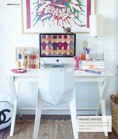 Claudia Stephenson's space in Adore Home,  chair: http://www.mattblatt.com.au/Replica-Dining-Chairs/Replica-Karim-Rashid-Poly-Chair.aspx?p4344c4#4345