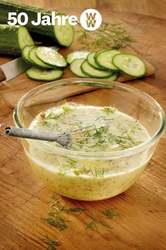 The dressing goes well with cucumber or leaf salad 💚 // 2 💙 // 2 💜, 4 servings). # The dressing goes well with cucumber or leaf salad 💚 // 2 💙 // 2 💜, 4 servings). Low Calorie Recipes, Ww Recipes, Salad Recipes, Healthy Recipes, Canned Blueberries, Vegan Scones, Scones Ingredients, Honey Mustard Dressing, Shrimp Recipes Easy