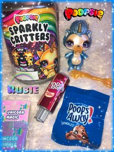 Poopsie Sparkly Critters | Her name is: Sprint | RARE | Unicorn Rubie | Disco Doo Doos | Dr Pepper | Chips Ahoy Lol Doll, Chips Ahoy, Miraculous Ladybug Memes, Dr Pepper, Toys For Girls, Chip Cookies, Pop Tarts, Unicorn, Vanilla