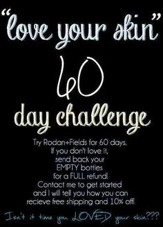 Do have wrinkles, sun spots, blemishes, redness?  Take the 60 day challenge!  Skin care regimen from the Drs behind Proactiv Message me to find out how  https://jdrusko.myrandf.com