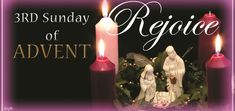 """Marcellino D'Ambrosio offers a reflection for the Third Sunday of Advent. Why is this Sunday called """"Gaudete"""" (Rejoice) Sunday? The answer is all about hope. Advent Candles, Pillar Candles, Advent Catholic, Catholic News, Third Sunday Of Advent, Advent Prayers, Sunday Messages, Recycled Toys, Advent Season"""