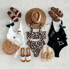 Discover recipes, home ideas, style inspiration and other ideas to try. Flat Lay Photography, Clothing Photography, Fashion Boutique, Boutique Clothing, Summer Flatlay, Bikinis, Swimsuits, Soho Style, Flats Outfit