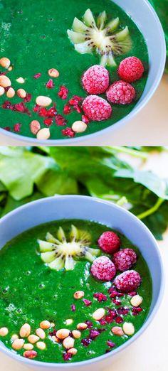[Recette facile] Smoothie aux épinards et spiruline  #vegan  http://veggieromandie.ch/recette-facile-smoothie-aux-epinards-et-spiruline/