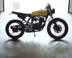 The Yamaha FZ has been modified as a cafe racer by Gear Gear Motorcycles. The bike goes through weight saving and resembles the iconic Yamaha RX100.