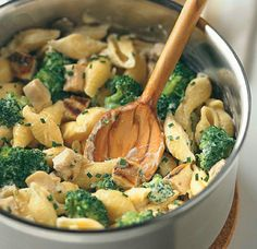 Mac and Cheese with Chicken and Broccoli