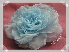 Мягкая Роза из вуали. Цветы из ткани. Цветоделие. - Ярмарка Мастеров - ручная работа, handmade