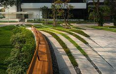 Landscape design for SCG Headquarter, Bangkok, Thailand