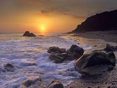 Leo Carillo State Beach, Malibu, California, USA
