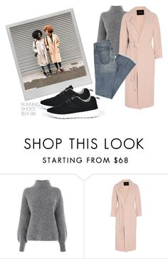 """""""Urban Adventurer"""" by dreampairs ❤ liked on Polyvore featuring Warehouse, Polaroid and Maje"""