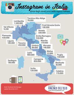 [Infografica] Instagram in Italia nel 2015