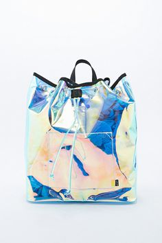 Shop UNIF Iridescent Vapor Backpack at Urban Outfitters today. We carry all the latest styles, colours and brands for you to choose from right here. Urban Outfitters, Backpack Purse, Crossbody Bag, Tote Bag, Unif, Fashion Moda, Bling Bling, Nylons, Grunge
