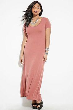 Plus Size Maxi Dress | Forever 21 PLUS - 2000181779