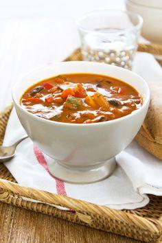 Vegetarian Tomato Florentine Soup