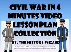 "These eight great video worksheets cover key events of the Civil War. My students enjoy and are engaged by these simple to use four minute video worksheets. Most importantly, they helped increase student knowledge and understanding of the Civil War. Each video worksheet works great as a ""Do Now Activity"" or as a complement to any lecture or lesson plan on the Civil War. - Visit to grab an amazing super hero shirt now on sale!"