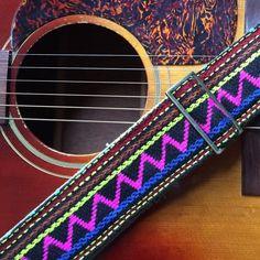 Indian Guitar Strap in Ravi