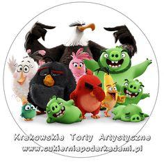 082. Fototort z Angry Birds. Angry Birds movie photocake.