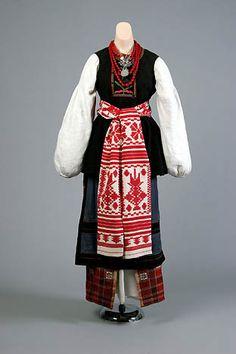 bride's costume, Eastern Ukraine