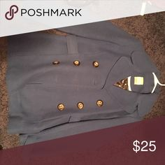 Fossil wool coat Royal blue(bad pic, can post more). Size M nice wool coat. From Fossil. Feel free to make an offer Fossil Jackets & Coats Pea Coats