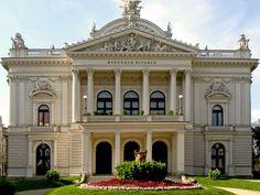 Mahenovo Divadlo - Mahen Theatre - República Tcheca (1882)