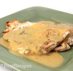 Best Recipes Magazine- Chicken with Dijon Mustard Sauce