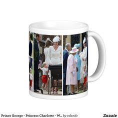 Prince George - Princess Charlotte - William Kate Classic White Coffee Mug