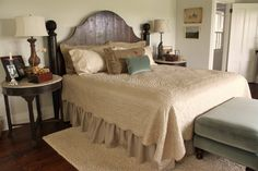 for the love of a house: the master bedroom