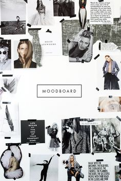 38 Ideas for fashion collage illustration mood boards ux ui designer Graphisches Design, Layout Design, Book Design, Interior Design, Mode Collage, Collage Wall Art, Collage Design, Collage Making, Illustration Mode