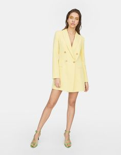 a5bf25bd8159 Blazer dress - Just In | Stradivarius United Kingdom Dresses For Work,  Mini, Blazer