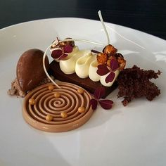 Chocolate, Espresso and Hazelnut #silikomartprofessional #sodersgourmet #pastry #pastrychef #patisserie #dessertmasters #dessert #valrhona #valrhonausa .