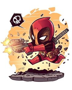 The Art of Derek Laufman Marvel Drawings, Cartoon Drawings, Cartoon Art, Chibi Marvel, Marvel Art, Marvel Avengers, Ps Wallpaper, Cartoon Wallpaper, Deadpool Wallpaper