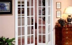 Interior doors french bi folding glass doors