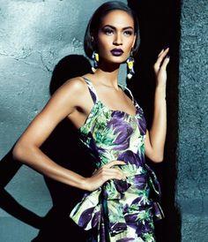 Joan Smalls for Vogue AU