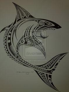 Tribal shark