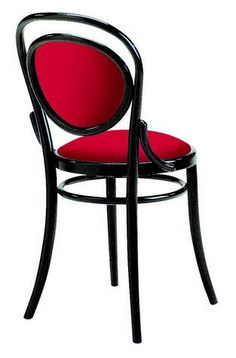 Pretty sweet, with its pin cushion seat, the A6658 Upholstered Bentwood Side Chair.