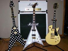 Randy Rhoads Gibson Guitar Trinity with the Church of Marshall amp!!!