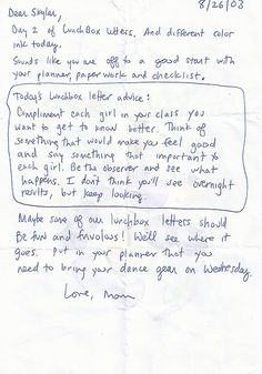 Mom\'s Lunchbox Letters to Her Daughter Should Be Read by Every Girl