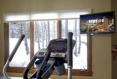 Working out is a lot less painful when you can be watching your favorite show. We have multiple solutions for any space.