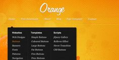 29 Page Template, Psd Templates, Website Template, Free Buttons, Corporate Website, Orange House, Blog Page, Home Free, Web Development