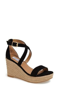 Steve Madden 'Montaukk' Wedge Sandal (Women) available at #Nordstrom