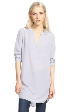Trouvé Long Sleeve Tunic available at #Nordstrom