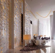 64 trendy wall design hotel lobby four seasons Design Hotel, Design Entrée, Lobby Design, Restaurant Design, Wall Design, House Design, Design Trends, Lobby Interior, Home Interior Design