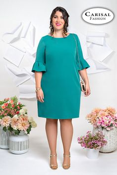 Latest African Fashion Dresses, African Dresses For Women, African Print Fashion, Plus Size Dresses, Plus Size Outfits, Curvy Outfits, Fashion Outfits, African Fashion Traditional, Casual Dresses