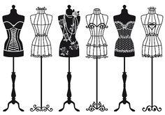 images of vintage dress mannequins - Google Search