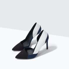ZARA - SHOES & BAGS - THREE-COLOR COURT SHOE