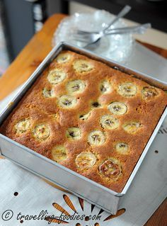 Simple Banana Cake – Whole Egg Direct Method bread cake healthy muffins pudding recipes chocolat plantain recette recette Dump Cake Recipes, Baking Recipes, Dessert Recipes, Desserts, Sponge Cake Recipes, Pastry Recipes, Appetizer Recipes, Banana Bread Cake, Banana Bread Recipes