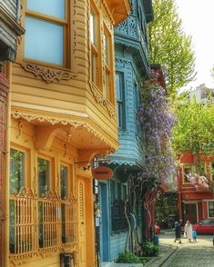 "ahguzelistanbul: ""Kuzguncuk-Istanbul by aysacalis. Istanbul City, Istanbul Turkey, Beautiful Wallpaper Photo, Orient House, Outside Paint, Turkey Travel, Dream City, Travel Tours, Travel Ideas"
