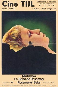 Rosemary's Baby Movie Poster x Rosemary's Baby, Baby Art, Baby Posters, Film Posters, Cult Movies, Horror Movies, Horror Film, Movie Market, Film Poster Design